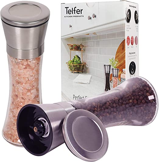 Adjustable Home Kitchen Pepper Grinders Round Bottle Small Object Crusher Useful