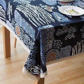 En Table Coton Rectangulaire De Tissu Jitian Couvre nw0yNm8Ov