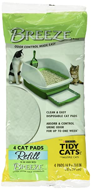 TIDY CATS Tidy gatos Breeze almohadillas - Pack de 10: Amazon.es: Productos para mascotas