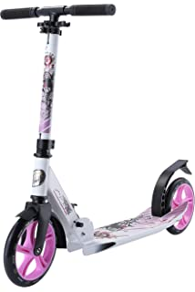 Hudora City Scooter Big Wheel ALU 8 205 Verde/AZ: Amazon.es ...