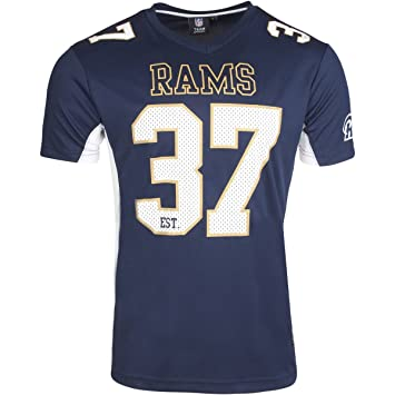 108d61f20 Majestic Athletic NFL Los Angeles Rams Poly Mesh Tee (Medium ...