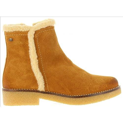 Botines de Mujer MTNG 97233 C34168 SERR Avellana: Amazon.es: Zapatos y complementos