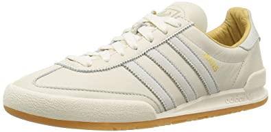 new arrival e2e17 981fd adidas Originals Jeans MKII White Leather Trainers S74804