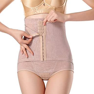 0a96c9d9193 XOKIMI Waist Trainer Modeling Strap Control Pants Butt Lifter Slim Belt  Slimming Underwear Body Shaper at Amazon Women s Clothing store