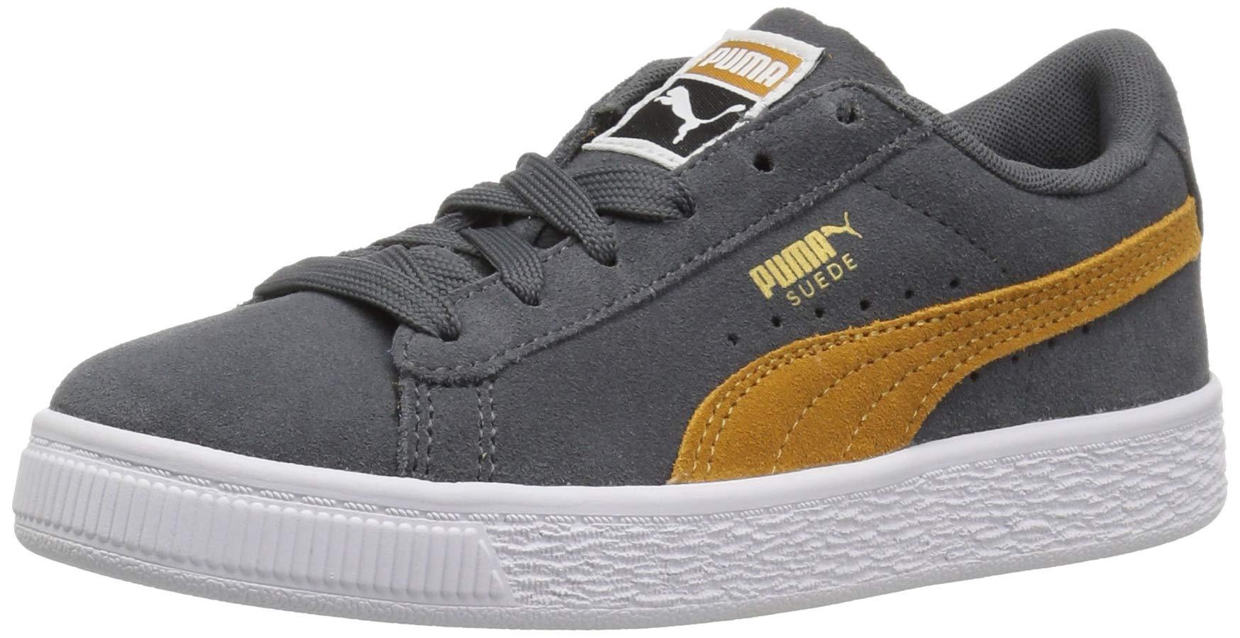 PUMA Unisex Suede Classic Sneaker, Iron