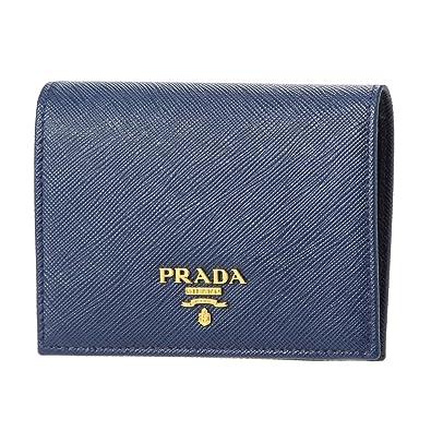 new styles c04b4 f9b5c Amazon | PRADA(プラダ) サフィアーノ 財布 レディース ミニ財布 ...