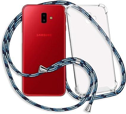 mtb more energy® Collar Smartphone para Samsung Galaxy J6 Plus, J6+ 2018 (SM-J610, 6.0): Amazon.es: Electrónica