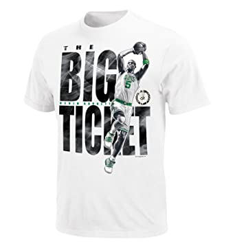 Majestic NBA BOSTON CELTICS Kevin Garnet Swagger camiseta, hombre, blanco, X-Large