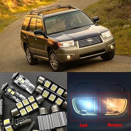 Amazon Nslumo 8pcs Xenon White Car Led Light Bulbs Interior