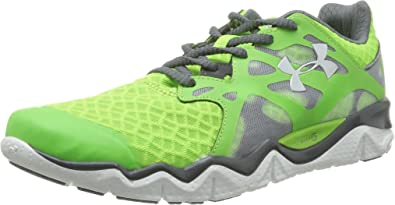 Under Armour UA MICRO G MONZA - Zapatillas de correr de material sintético hombre, color verde, talla 475: Amazon.es: Zapatos y complementos