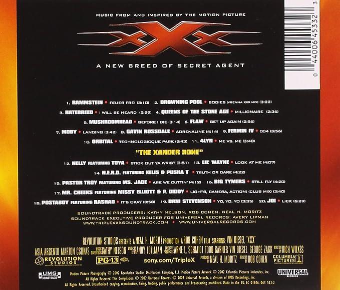 Soundtrack of xxx — img 8