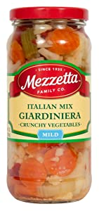 Mezzetta Italian Mix Giardiniera, 16 Ounce