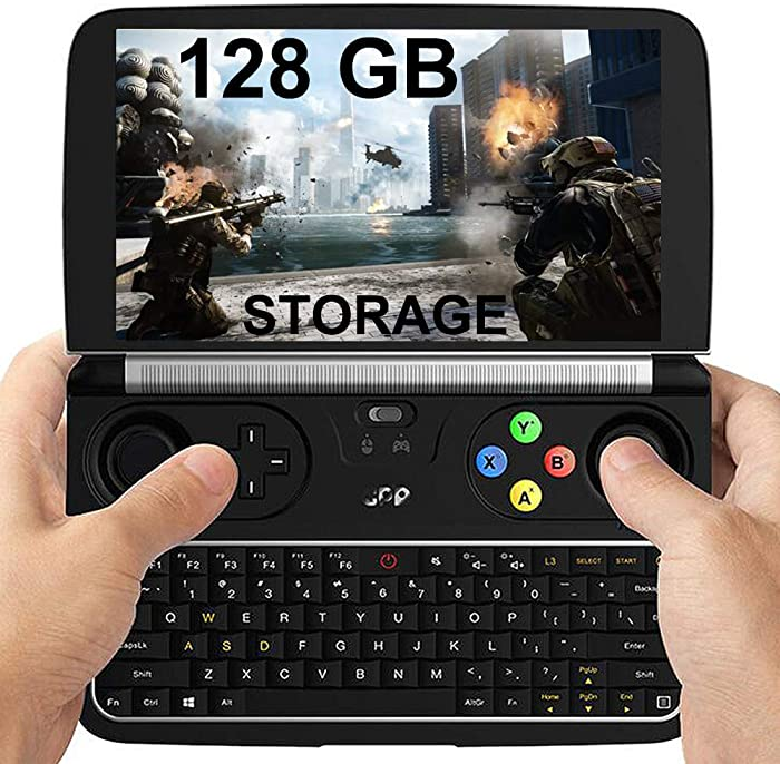 "GPD Win 2 [128GB M.2 SSD Storage] 6"" Mini Handheld Video Game Console Portable Windows 10 Gameplayer Laptop Notebook Tablet PC CPU M3-8100y lntel HD Graphics 615 8GB/128GB"