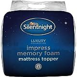 Silentnight Impress 5 cm Memory Foam Mattress Topper, Double