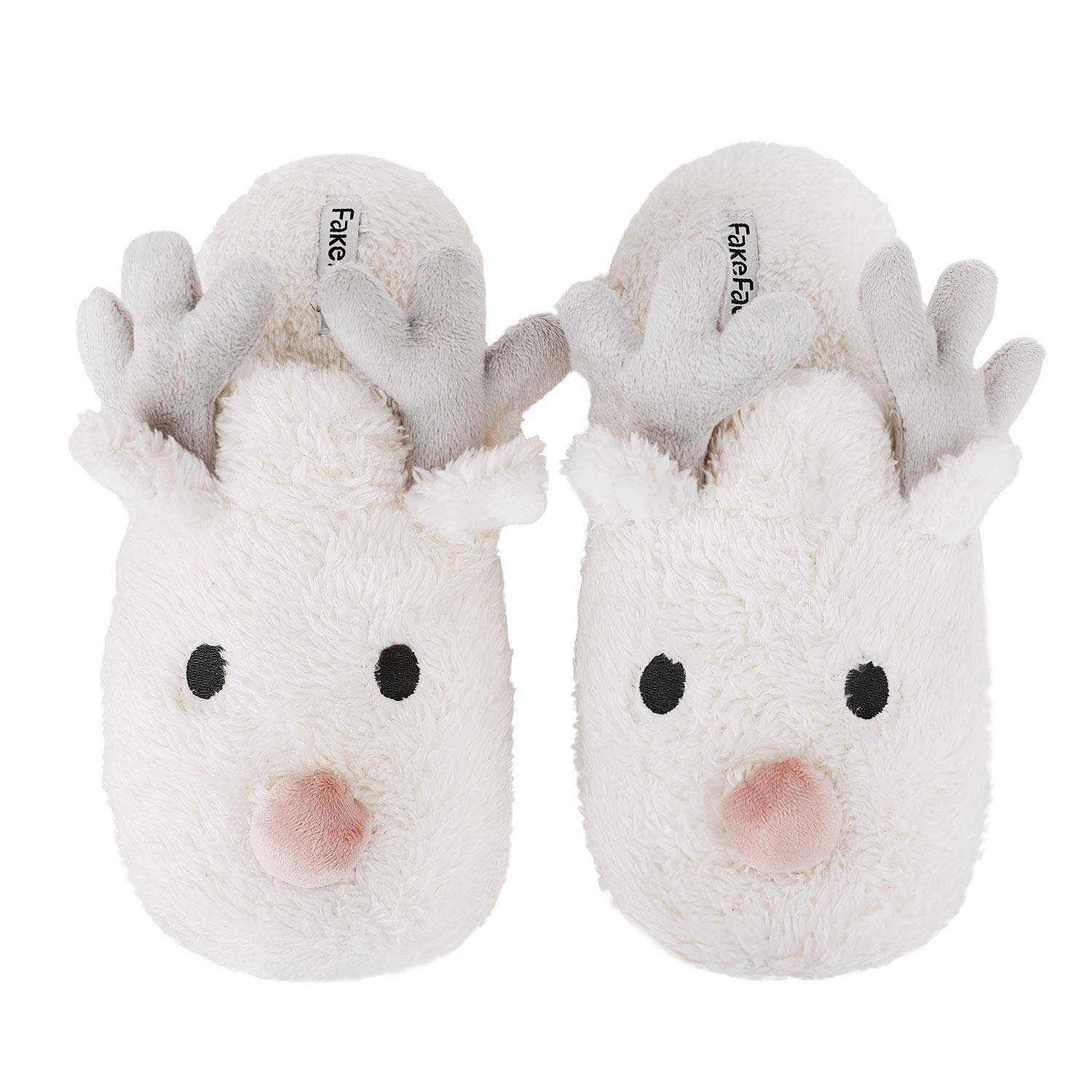 Tremendous Womens Cartoon Indoor Warm Fleece Slippers Winter Soft Cozy Home Booties Non Slip Plush Slip On Shoes Ankle Boots Interior Design Ideas Gresisoteloinfo
