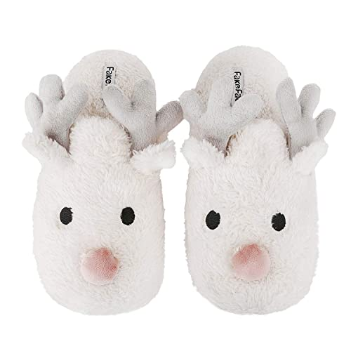 Admirable Greenery Gre Womens Cartoon Indoor Warm Fleece Slippers Interior Design Ideas Gresisoteloinfo