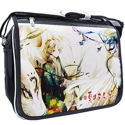 Gumstyle Natsume Yuujinchou Cosplay Messenger Bag Crossbody Sling Shoulder Schoolbag for Boys Girls Anime Fans