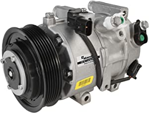 New Mando 10A1400 AC Compressor with Clutch Original Equipment (Pre-filled Oil)