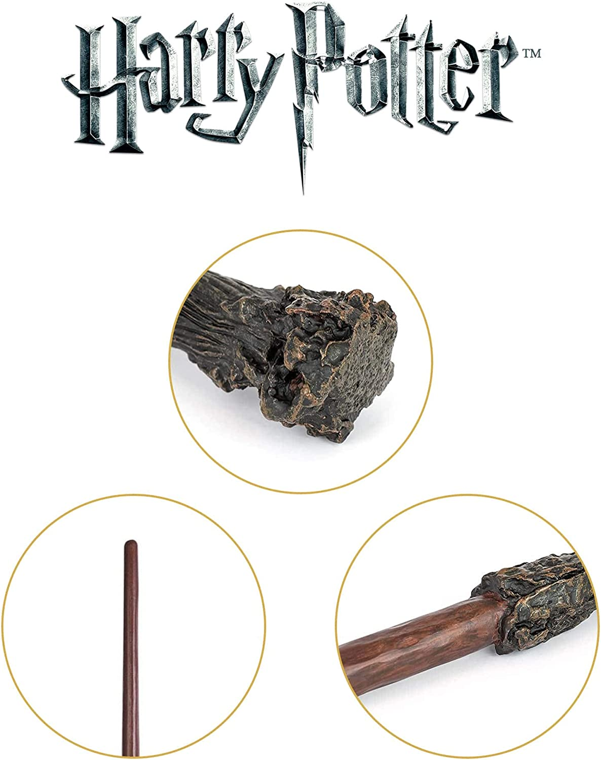The Noble Collection Harry Potter Wand with Ollivanders Wand Box: Toys & Games