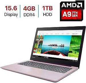 2018 Lenovo IdeaPad 320 15.6-inch HD (1366x768) Display Laptop PC, AMD A9-9420 Processor up to 3.6GHz, 4GB DDR4 SDRAM, 1TB HDD, HDMI, Bluetooth, WiFi, Webcam, DVD±RW, Windows 10-Purple