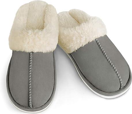 Women Slippers Memory Foam Fluffy Warm