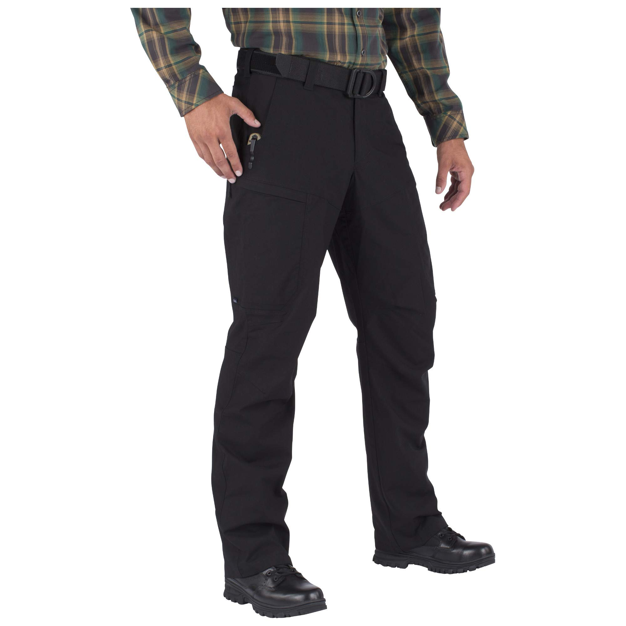 5.11 Men's APEX EDC Stealth Cargo Pocket Tactical Pant Style 74434, Black, 38W x 32L by 5.11