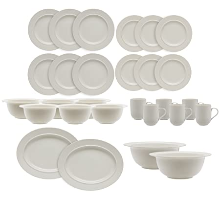 Alessi La Bella Tavola 28 Piece Dinnerware Set 6 Place Settings