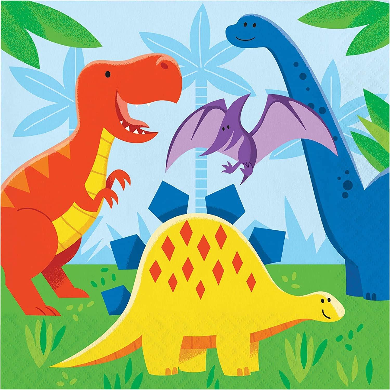 Dinosaur Friends Birthday Party Bundle Napkins 48