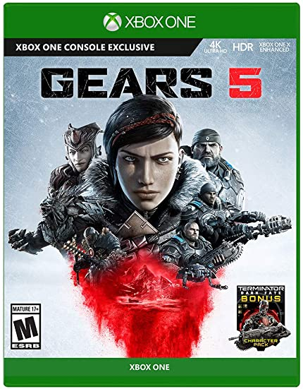 Gears 5 - Xbox One: Microsoft Corporation: Video Games - Amazon com