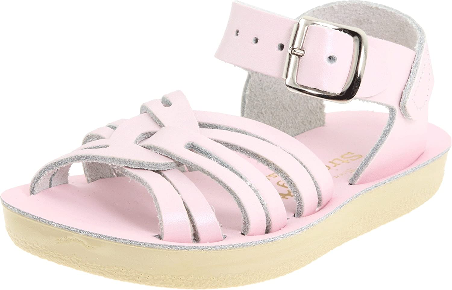 Salt Water Sandals by Hoy Shoe Strappy Sandal (Toddler/Little Kid/Big Kid/Women's) Saltwater by Hoy Style 8100 - K