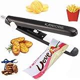 Mini Bag Sealer Heat Seal, Handheld Food Sealer Bag Resealer for Food Storage, Portable Smart Heat Sealer Machine with…