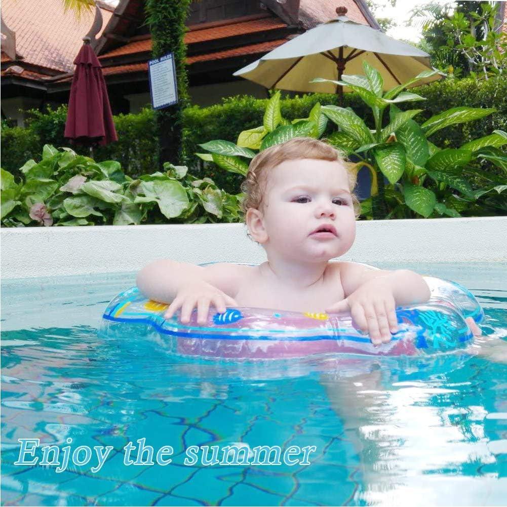 SDFY Kinder-Schlauchboot Baby Schwimmring 50 cm Mini Kinderboot Schwimmhilfe mit Schwimmsitz f/ür Kleinkind ca Blau
