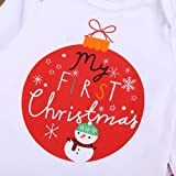 Kehome Baby Girls Boy Outfits My First Christmas