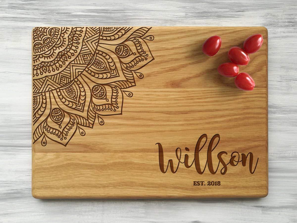 Personalized Cutting Board For Wedding Gift Custom Cutting Board