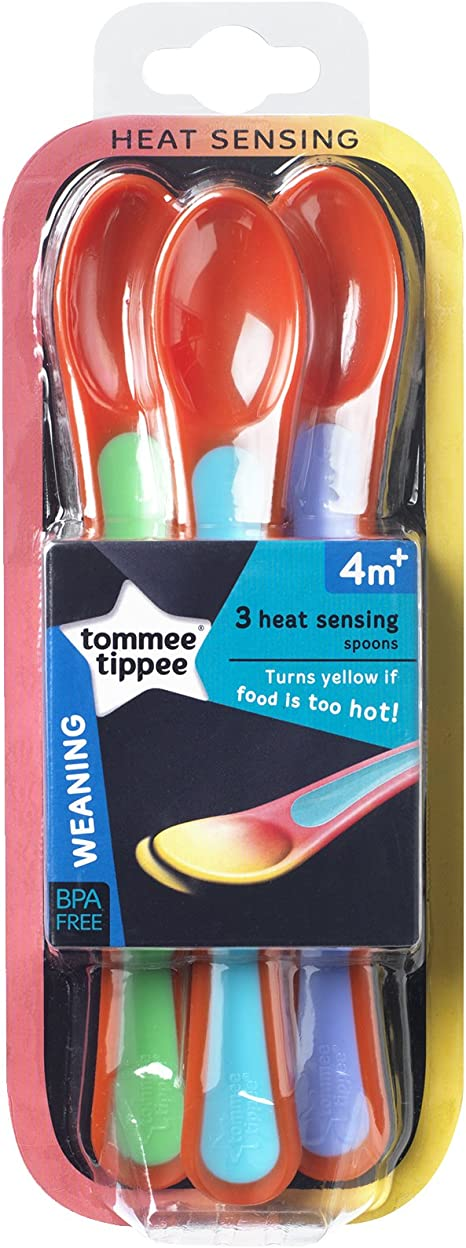 Cucharas termo sensibles pack de 3 Tommee Tippee Explora