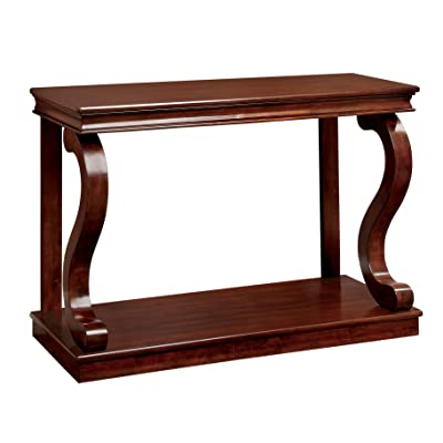 Delicieux Furniture Of America Chersie Wood Console Table, Cherry