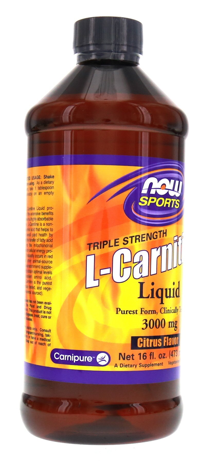 Now Foods L-Carnitine Liquid 3000 mg - 16 oz.. 2 Pack by NOW Foods (Image #8)