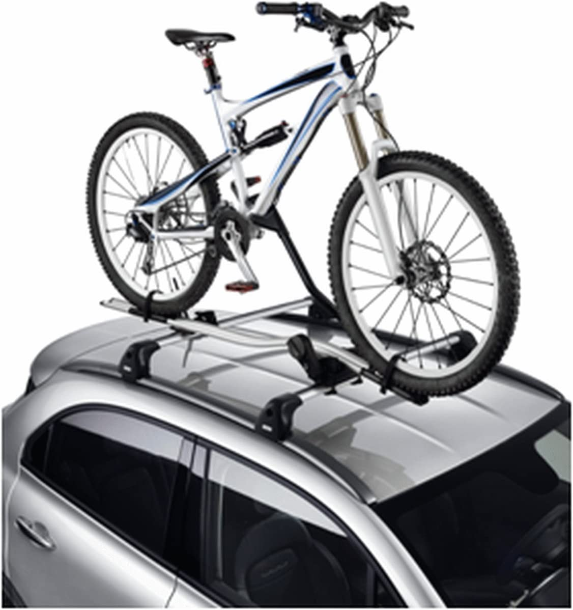 Portabici Originale FIAT inserto in alluminio porta bici