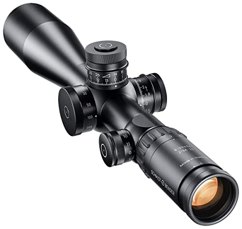 Schmidt Bender 5-25x56 PM II LP 1cm ccw DT MTC LT / ST ZS LT Rifle Scope with P4FL Reticle