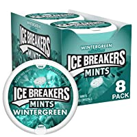 Deals on 8-Ct Ice Breakers Mints, Wintergreen, Sugar Free, 1.5 Ounce