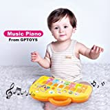 GPTOYS Electric Organ Cartoon Keyboard Musical Toy Instrument Learning & Educational Baby Toys Kids Piano