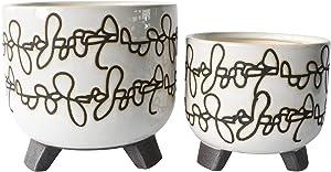 Sagebrook Home 14804-07 Ceramic 6/8