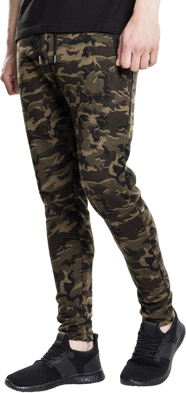 TALLA W32. Urban Classics Interlock Camo Pants Pantalones para Hombre