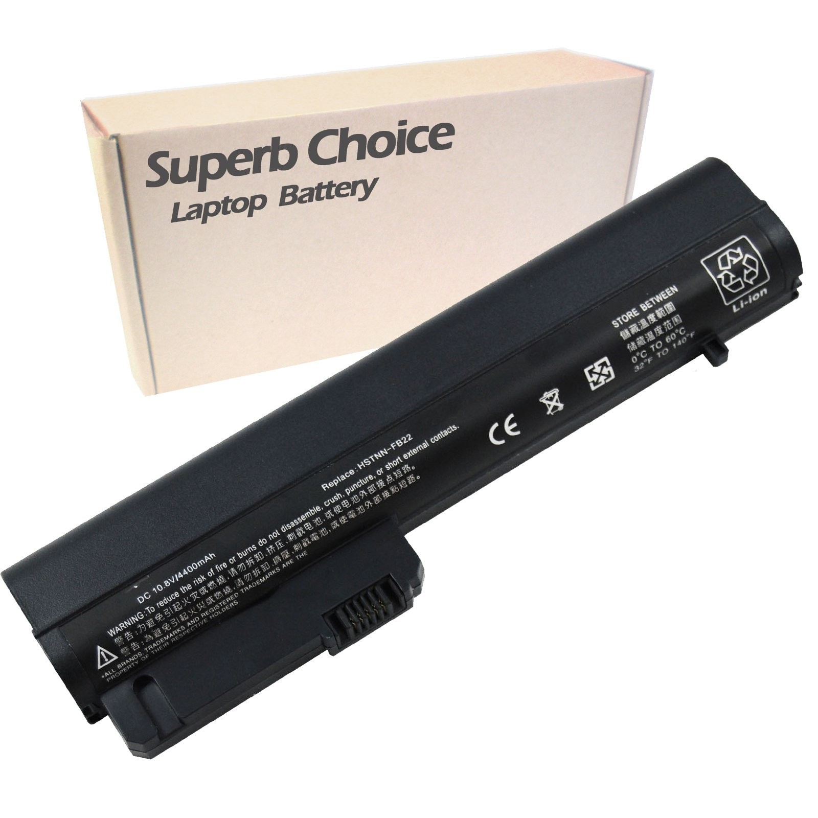 Superb Choice Battery for HP Compaq Business Notebook 2400 Series 2510p nc2400 HP 2533t Mobile Thin Client EliteBook 2530p