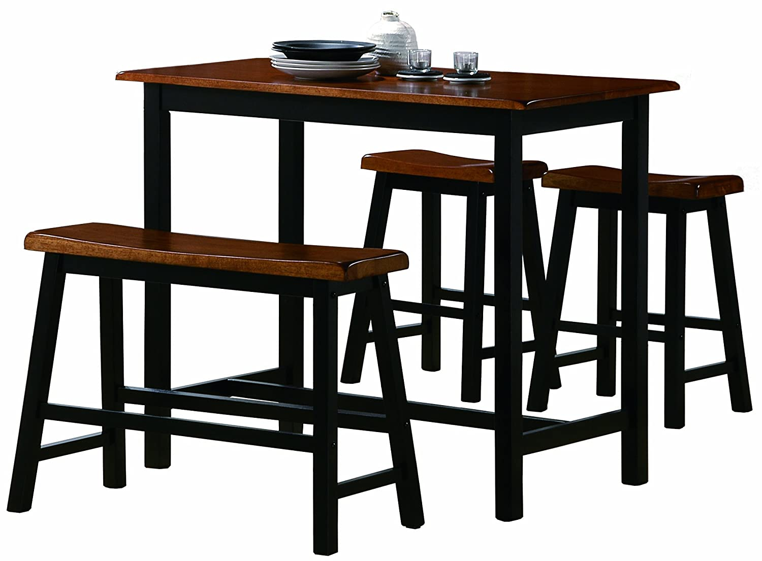 Kitchen Furniture Sets Amazoncom Table Chair Sets Home Kitchen