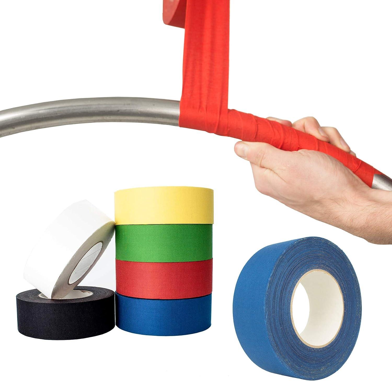 Firetoys Cinta adhesiva aérea, perfecta para Lyra, trapecio y otros equipos aéreos. 50 mx 5 cm.