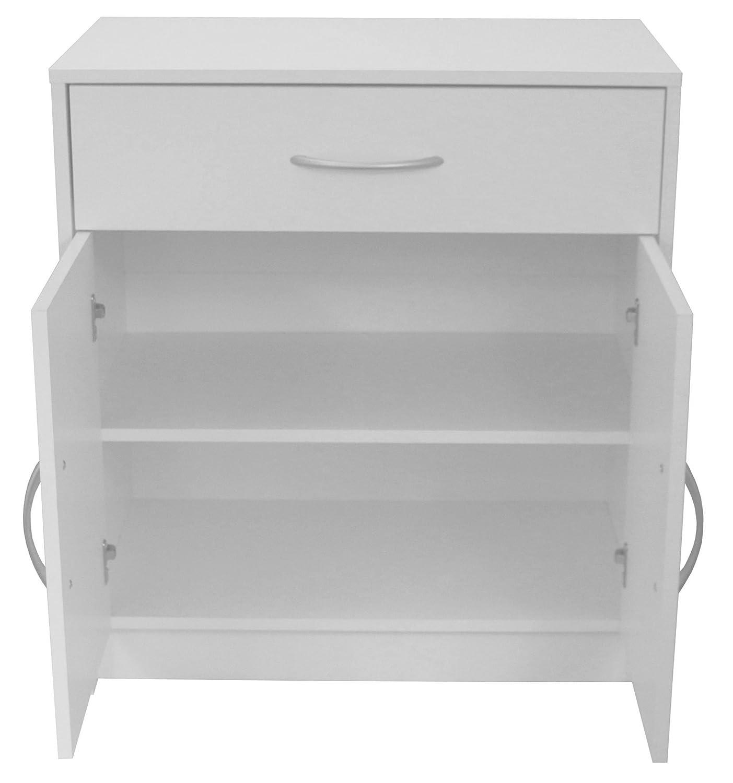 Boldon/Lounge-Möbel, 2-türig, 1 Schublade Sideboard/Schrank, Weiß ...
