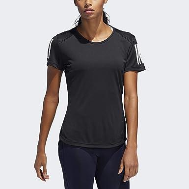 great deals 2017 best service autumn shoes adidas Damen Own The Run Tee T-Shirt (Kurzarm): Amazon.de ...