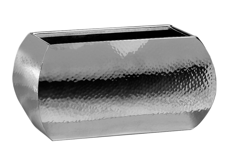 Fink Jardin /Übertopf,Edelstahl 13x23cm,H.12cm