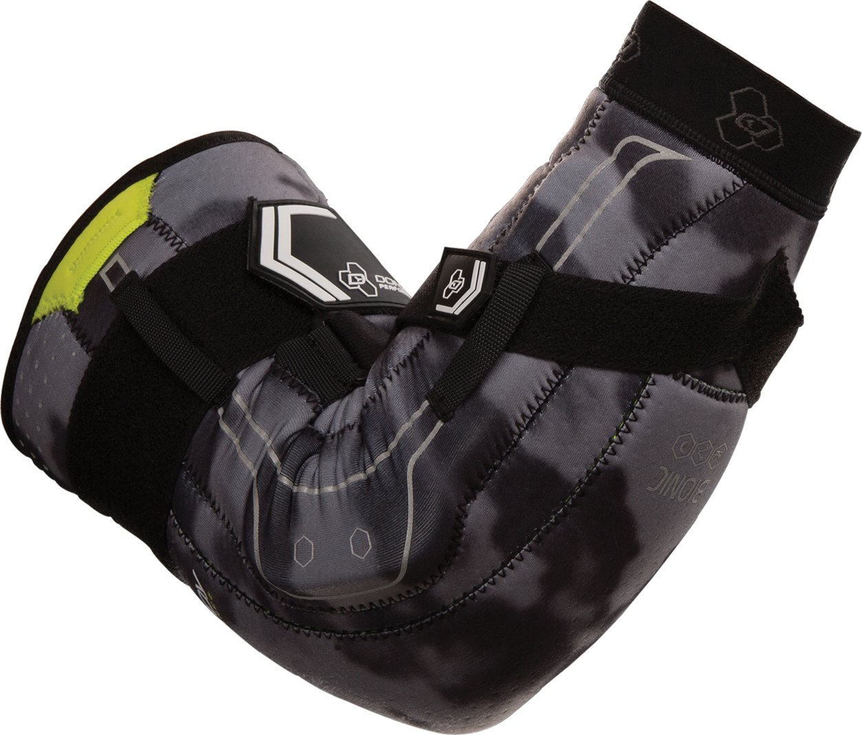 DonJoy Performance Bionic Elbow Brace – Maximum Hinged Support for Elbow Hyperextension, UCL, Tommy John Ligament Injury, Dislocated Elbow for Football, Lacrosse, Rugby, Basketball